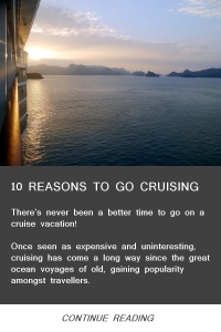 10 Reasons to go Cruising - Feb14