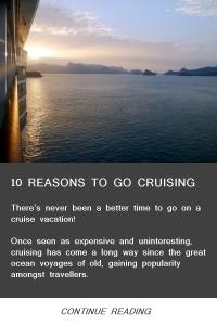 10 Reasons to go Cruising - Feb14