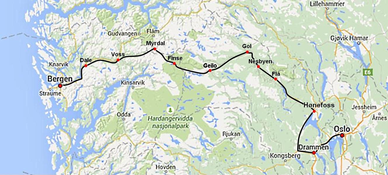 Bergensbanen Travelwerke